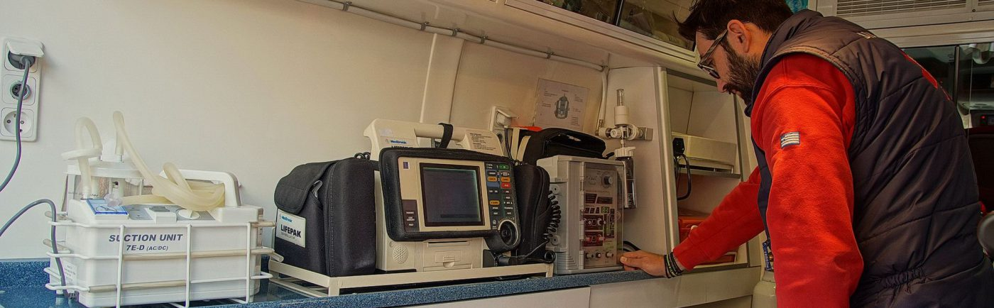 Ασθενοφόρο - Εσωτερικός χώρος