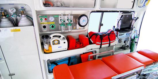 Ασθενοφόρα Ιατρικές Κινητές Μονάδες