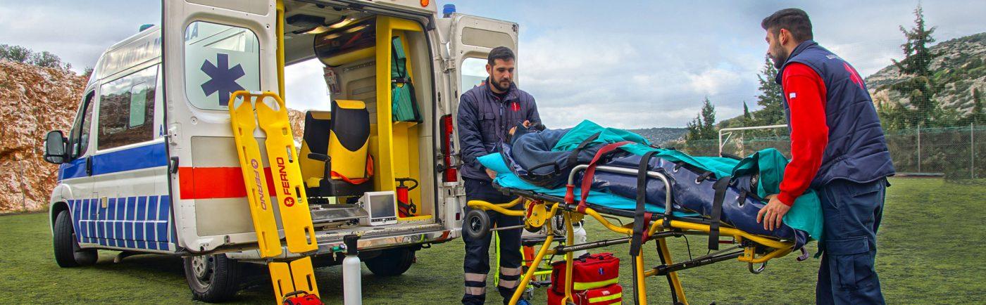 Ιδιωτικά Ασθενοφόρα - Μεταφορά Τραυματία
